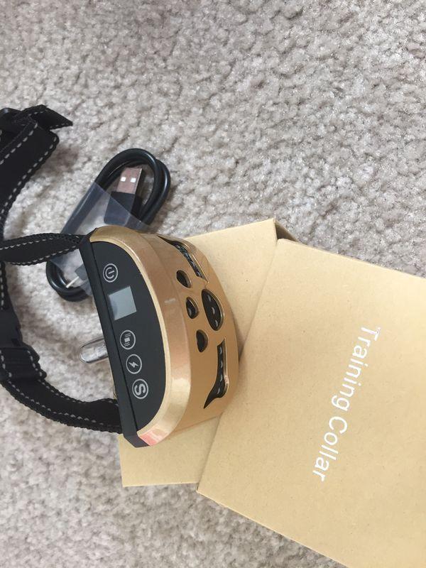 Brand new Dog bark training collar