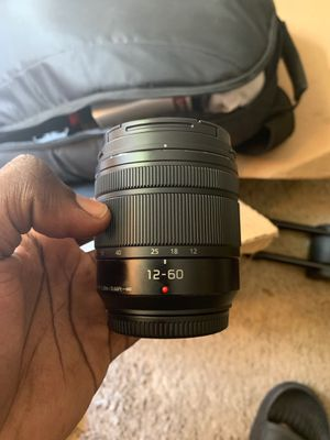 Panasonic Lumix G Vario 12-60mm F3.5-5.6 ASPH Power OIS for Sale in Powder Springs, GA