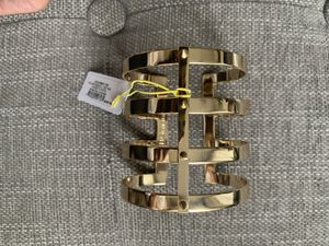 BCBGeneration Gold Cuff with Studs - NEW with Tags for Sale in Los Angeles, CA