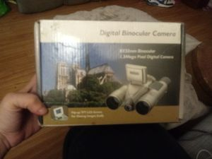 new in box hammacher schlemmer digital camera binoculars for Sale in Albany, NY