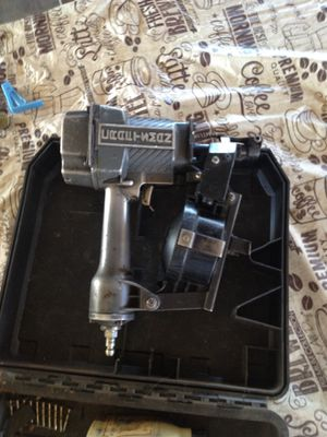 Craftsmen Heavy Duty Full Metal Roofing Nail Gun for Sale in Madera, CA