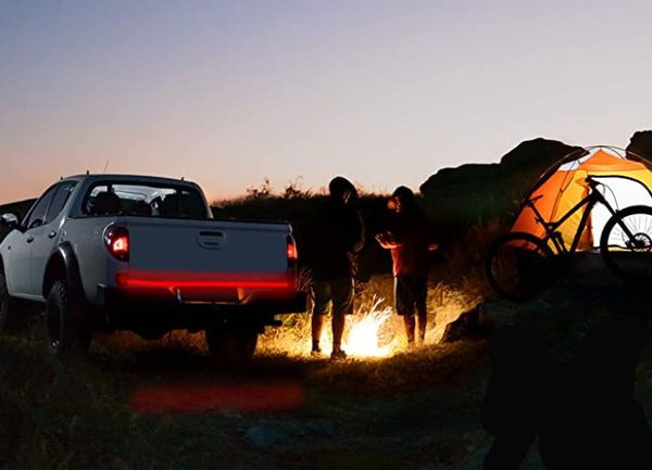 """Light Up Your Way!! 60"""" Single Row LED Tailgate Light Bar, 5 Functions, IP67 Waterproof!!"""