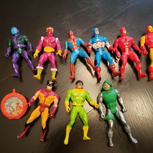80s Marvel Action Figures. Spiderman, Captain America Iron Man for Sale in Hatboro, PA