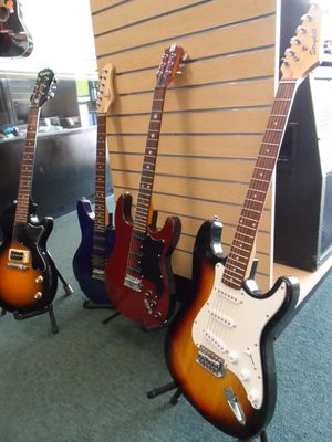 ELECTRIC GUITARS FOR SALE for Sale in San Antonio, TX