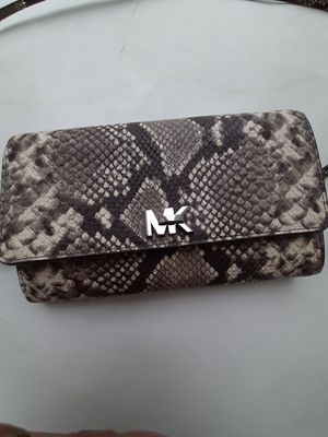 Michael Kors Python skin purse for Sale in Columbus, OH