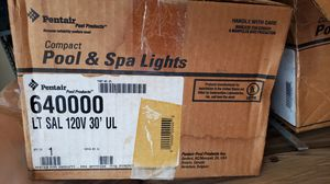 Two Pentair Color Pool or Spa Lights for Sale in Grand Prairie, TX