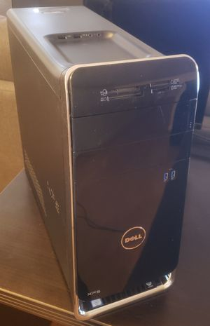 Dell XPS 8900 Desktop Intel Core i7-6700 500 GB SSD Windows 10 Pro for Sale in Los Angeles, CA