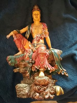 Summit Collection- Water and Moon Quan Yin Statue, Royal Ease for Sale in Memphis, TN