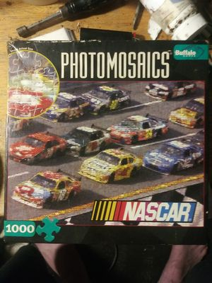 NASCAR thousand piece puzzle never opened still in a sealed bag for Sale in Dublin, OH