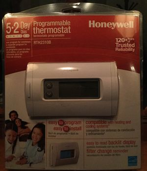 Honeywell thermostat New in box for Sale in Chesapeake, VA