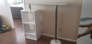 Glass Top Bar Stand for Sale in Winter Haven, FL