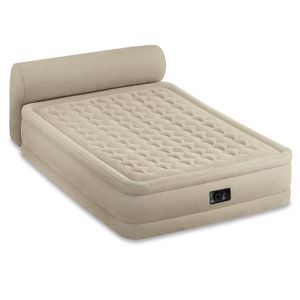 Intex Queen size Mattress with Headrest for Sale in Alexandria, VA