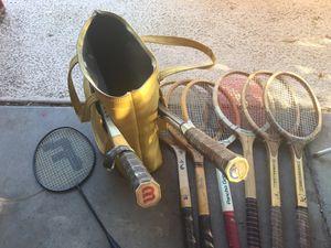 Old tennis rackets for Sale in Phoenix, AZ