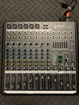 Mackie 12 Channel mixer 111042/12 for Sale in Federal Way, WA