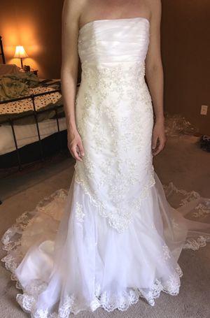 Wedding dress size 8 for Sale in Chehalis, WA