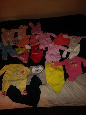 0-3 months baby girl clothes for Sale in Columbus, OH