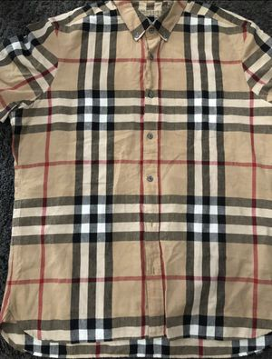 Original Burberry shirt XL fits like a Medium 90$ obo for Sale in Carson, CA