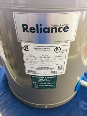 RELIANCE Water Heater Model 6-6SOMS-200 for Sale in North Lauderdale, FL