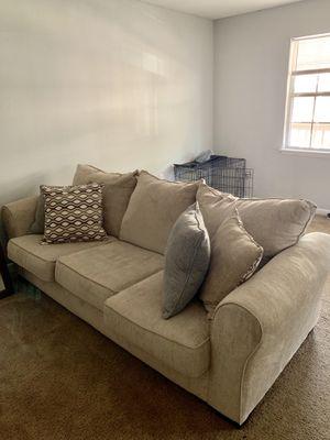 Beige Couch for Sale in Fort Walton Beach, FL