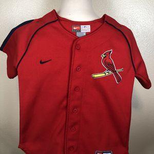 Nike Kids St Louis Cardinals Red Baseball MLB Jersey Size 6 for Sale in Oregon City, OR