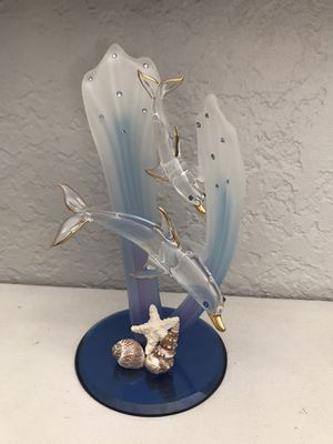 Glass Baron Dolphin Figurine for Sale in Cape Coral, FL