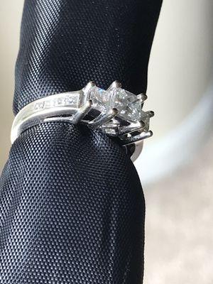 1 ct plus princess cut diamond wedding ring $3999 new w receipt BUY SELL TRADE for Sale in Orlando, FL