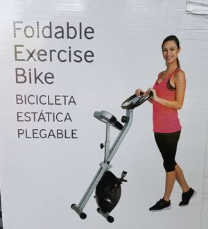 Foldable Movable Exercise Gym Bike Bicycle for Sale in Bethesda, MD