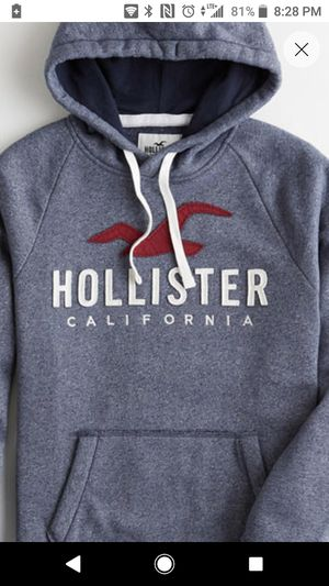 Hollister S Heather Navy Hoodie for Sale in Chula Vista, CA