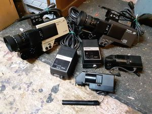 Vintage Panasonic video cameras for Sale in Tulsa, OK