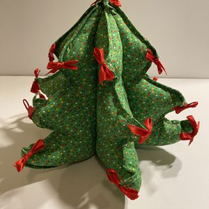 Vintage Small Fabric Christmas Tree for Sale in Chandler, AZ