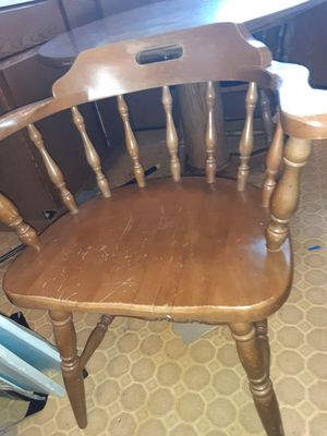 3-4 ft wide wooden kitchen table for Sale in Chaska, MN