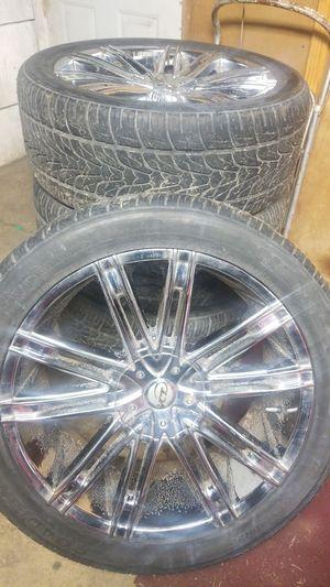 Tires & rims 6 lug 22'' $600.00 for Sale in Centreville, IL