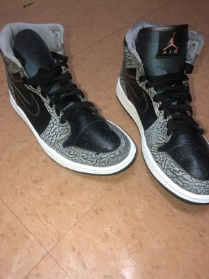 Nike Air Jordan 1 Retro High Black Cement size 10.5 for Sale in Brooklyn, NY