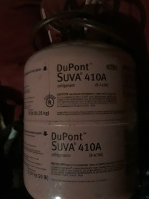 DuPont refrigerant 410a good for home or auto for Sale in Dayton, OH