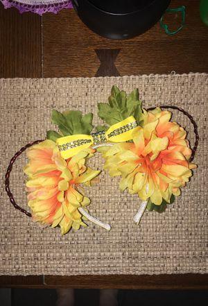 Yellow flower wire Disney Ears for Sale in Riverside, CA