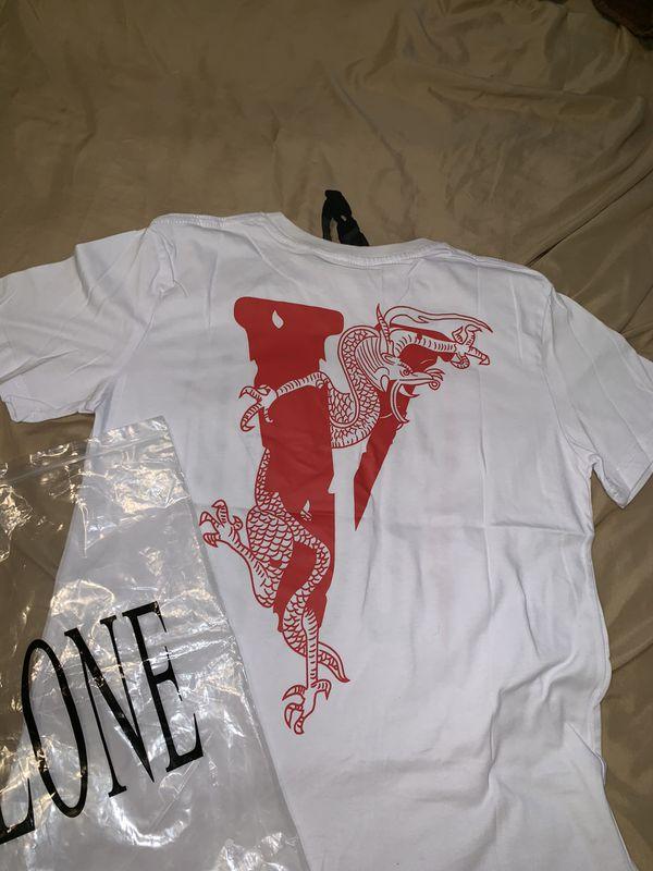Vlone x Clot shirt Size M