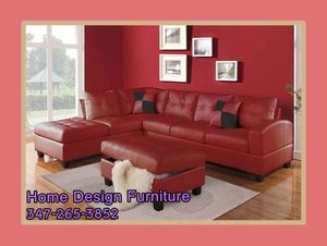Brand New Modern Leather Sectional For for Sale in Queens, NY