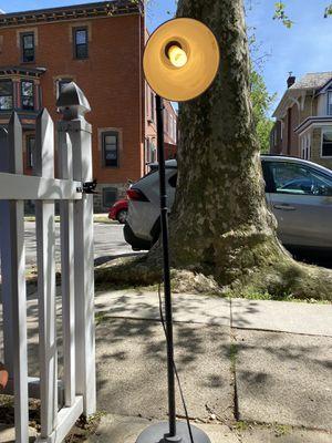 Rustic Pharmacy Style Adjustable Floor Lamp for Sale in Philadelphia, PA