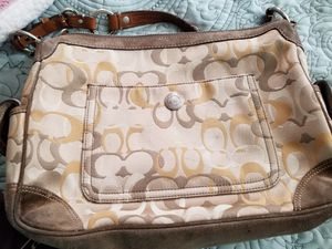 Leather Coach purse for Sale in Hudson, FL