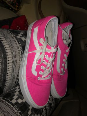 Hot pink old school style vanz for Sale in Dallas, TX