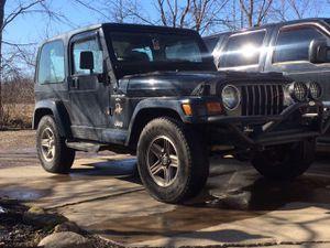2000 Jeep Wrangler Sahara for Sale in Medina, OH