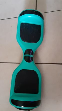 Teal hoverboard has Bluetooth comes with charger #{contact info removed} for Sale in New Port Richey,  FL