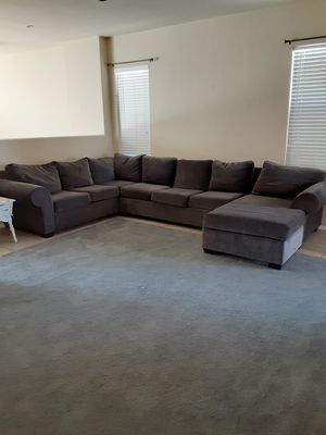 Sectional Couch, Grey for Sale in Apache Junction, AZ