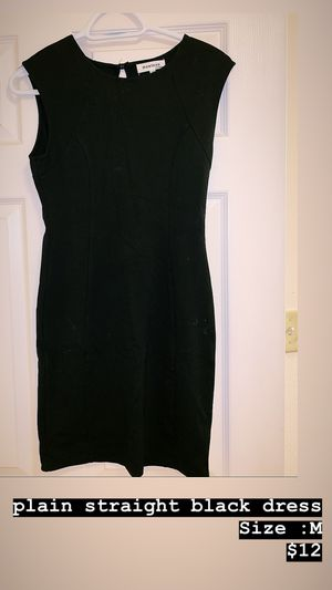 Plain straight black dress for Sale in San Angelo, TX