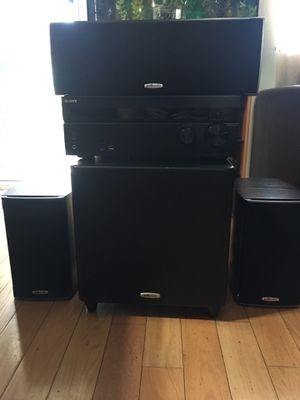 Polk Audio Complete Surround System for Sale in Mission Viejo, CA