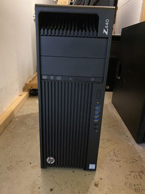 HP Z440 Desktop CPU with NVIDIA Quadro M4000 graphics card for Sale in San Diego, CA