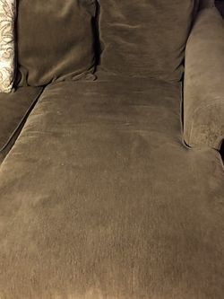 Large Dark Green Couch With Fouton for Sale in Mill Valley,  CA