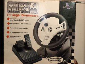 Sega racing Wheel for Sale in Ivanhoe, CA