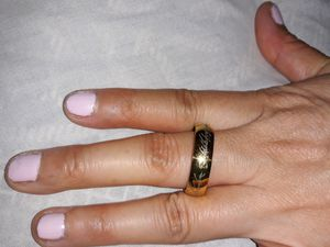 18 K Gold Plated Wedding Ring, Size 10. for Sale in Dallas, TX