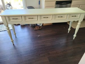Five drawer console table for Sale in Chester, MD